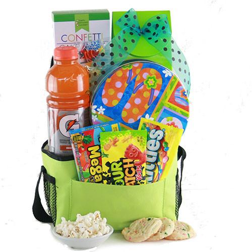 Best ideas about Beach Gift Basket Ideas . Save or Pin Summer Gift Ideas Beach Bum Beach Gift Basket Now.