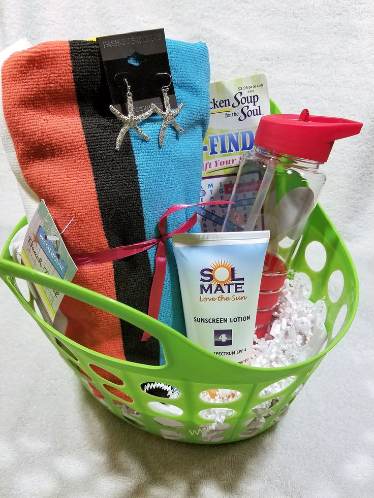 Best ideas about Beach Gift Baskets Ideas . Save or Pin Best 25 Beach t baskets ideas on Pinterest Now.