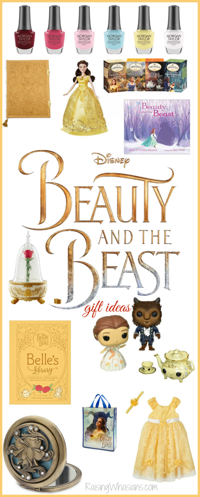 Best ideas about Beauty And The Beast Gift Ideas . Save or Pin Best Beauty and the Beast Gift Ideas for Your Little Belle Now.