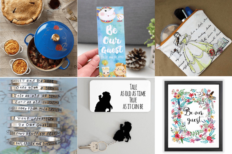 Best ideas about Beauty And The Beast Gift Ideas . Save or Pin Gifts Inspired by Beauty and the Beast Lyrics and Quotes Now.