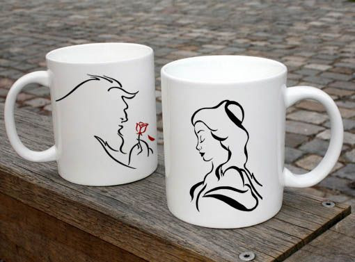 Best ideas about Beauty And The Beast Gift Ideas . Save or Pin Beauty And The Beast Disney Couple Mugs Ceramic Gift Mugs Now.