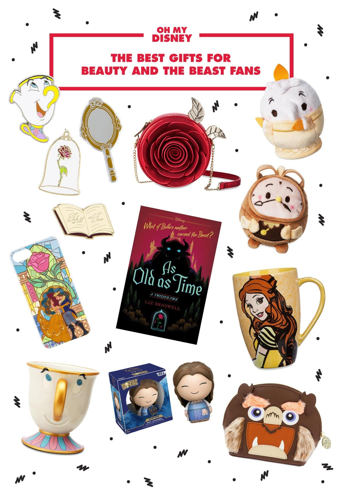 Best ideas about Beauty And The Beast Gift Ideas . Save or Pin Gift Guide The Best Gifts for Beauty and the Beast Fans Now.