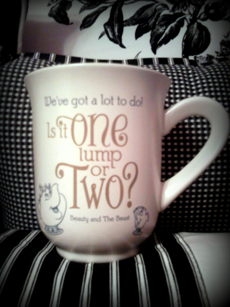 """Best ideas about Beauty And The Beast Gift Ideas . Save or Pin """"Beauty and the Beast"""" mug from Hallmark Now."""