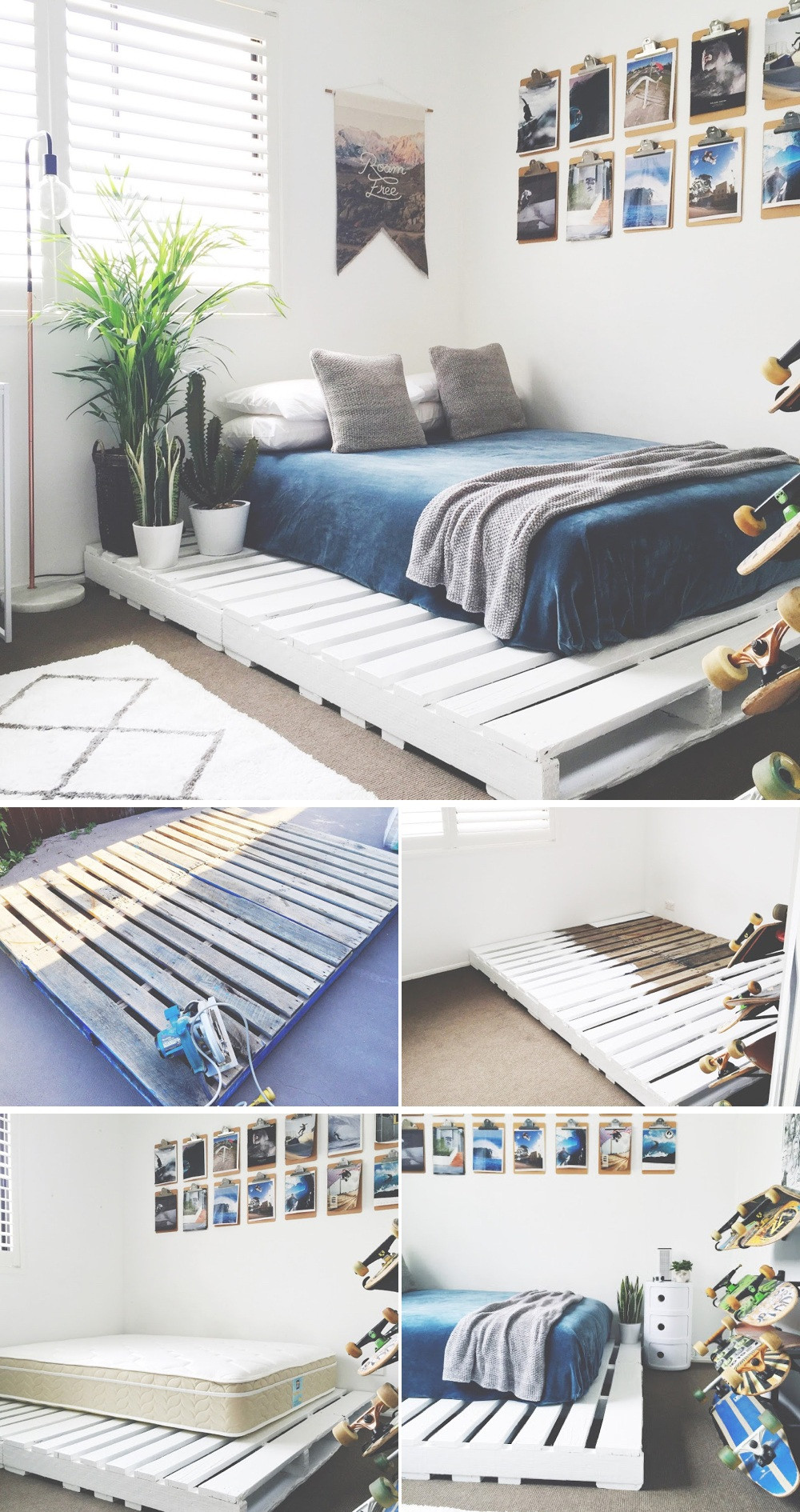 Best ideas about Bed Frame DIY . Save or Pin 36 Easy DIY Bed Frame Projects to Upgrade Your Bedroom Now.