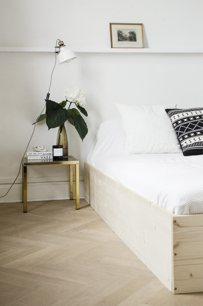 Best ideas about Bed Frame DIY . Save or Pin 18 Gorgeous DIY Bed Frames • The Bud Decorator Now.