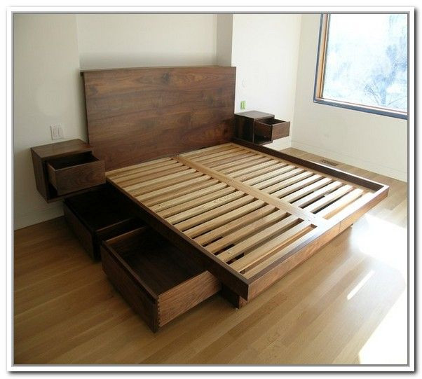 Best ideas about Bed Frame DIY . Save or Pin 1000 ideas about Diy Bed Frame on Pinterest Now.