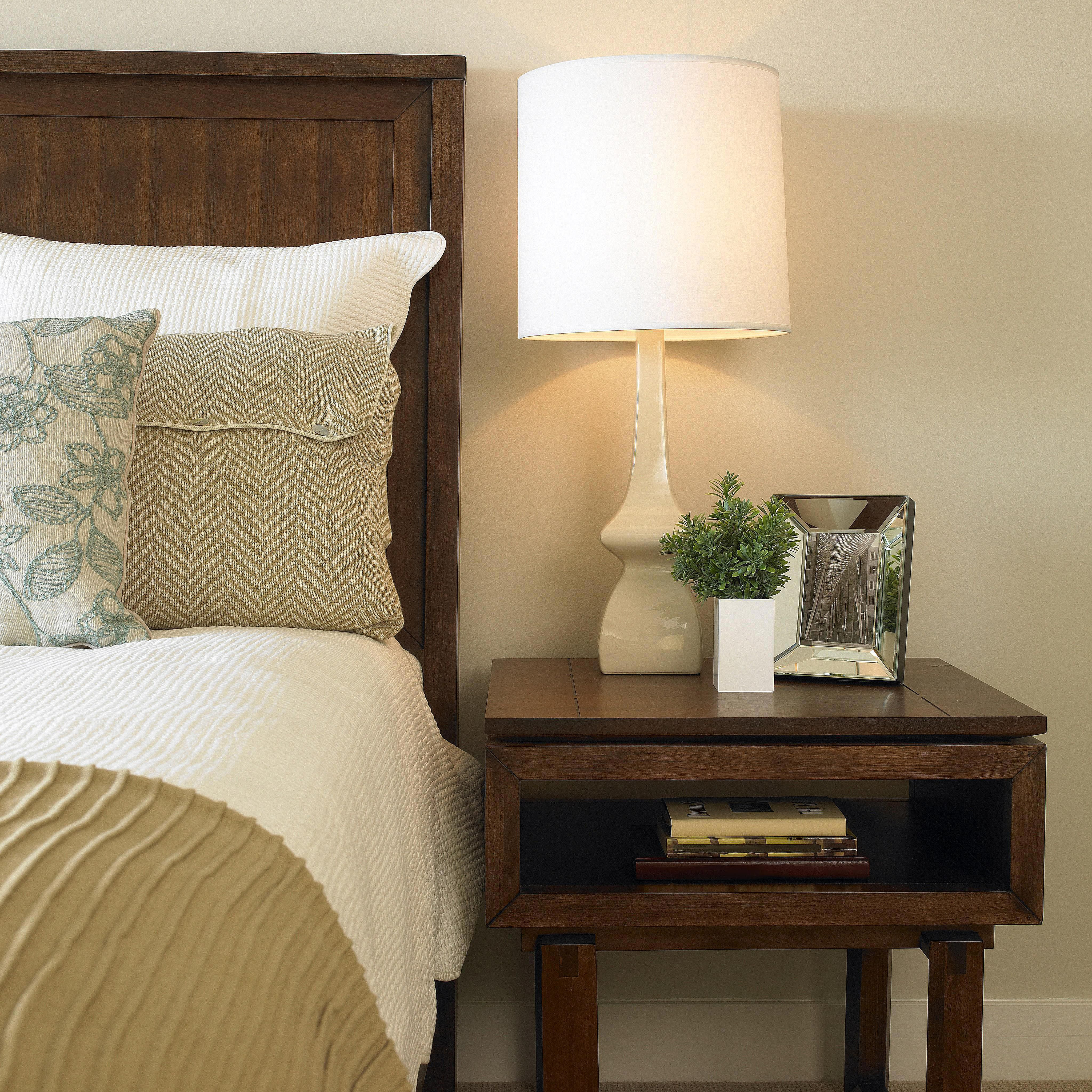 Best ideas about Bedroom Table Lamps . Save or Pin How to Choose a Lamp and the Right Size Lampshade Now.