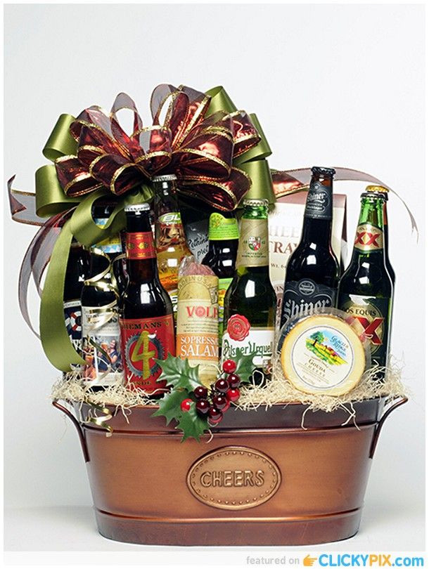 Best ideas about Beer Gift Basket Ideas . Save or Pin 25 best ideas about Beer basket on Pinterest Now.