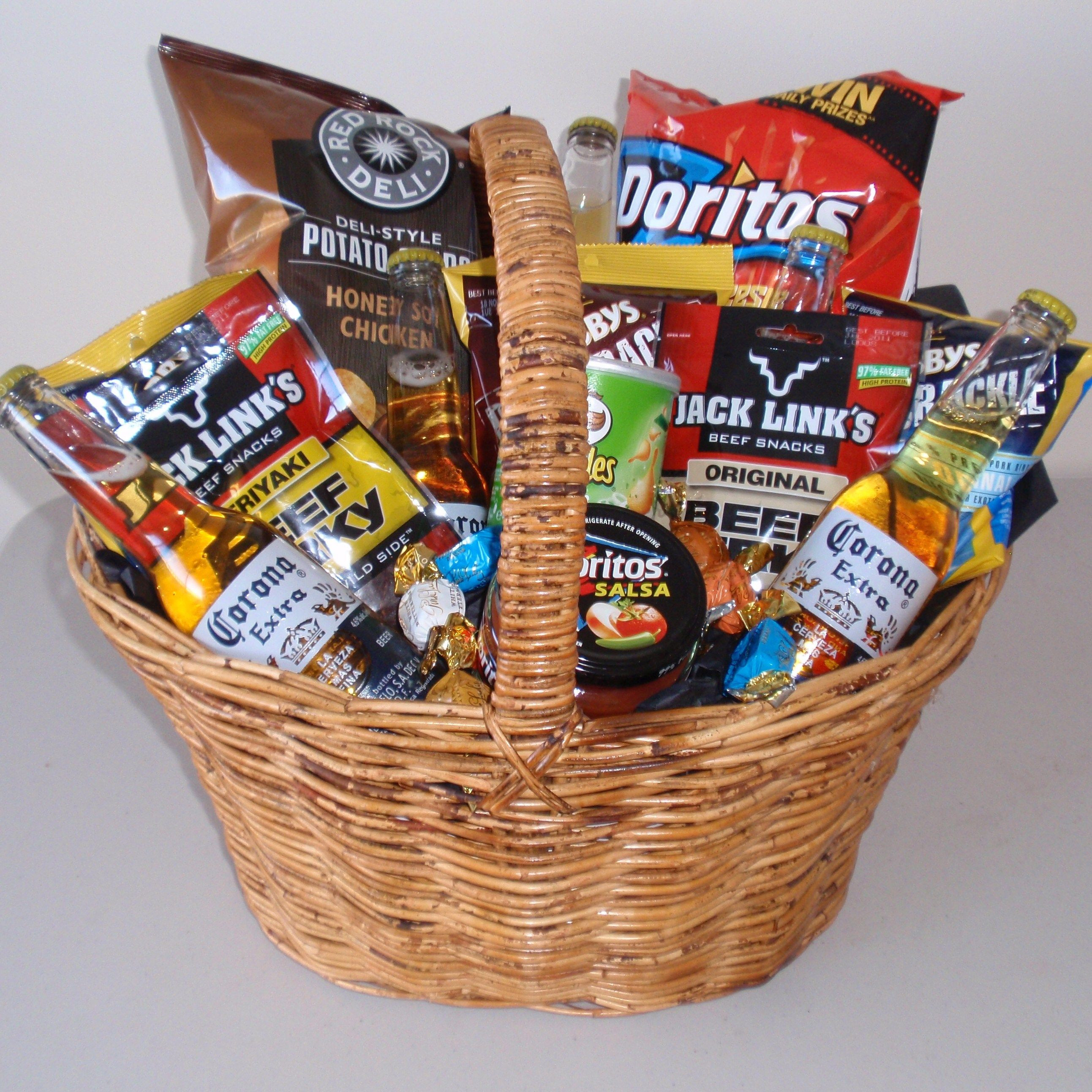 Best ideas about Beer Gift Basket Ideas . Save or Pin Beer t basket DO iT YOURSELF Now.