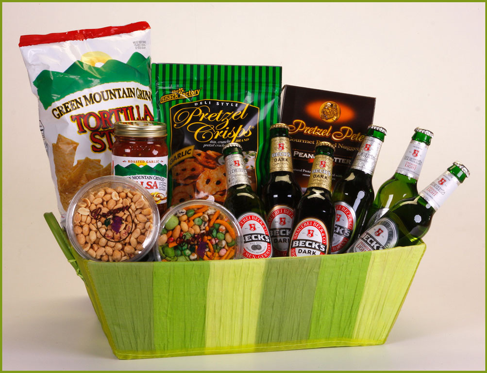 Best ideas about Beer Gift Basket Ideas . Save or Pin SEND Liquor Beer Baskets Now.