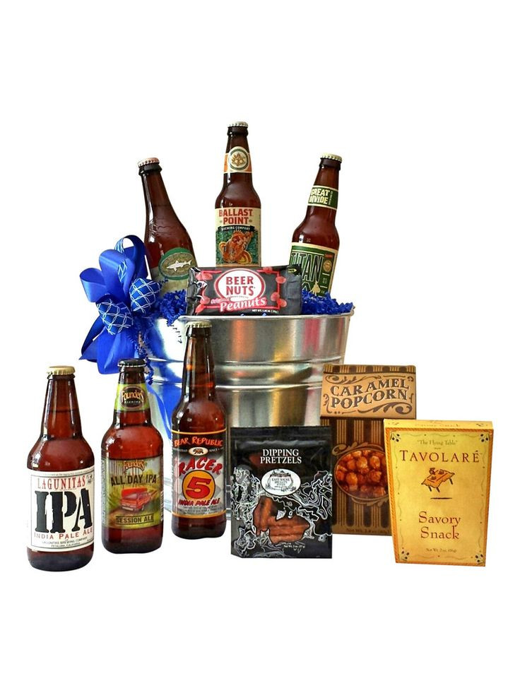 Best ideas about Beer Gift Basket Ideas . Save or Pin 17 Best ideas about Beer Gift Baskets on Pinterest Now.