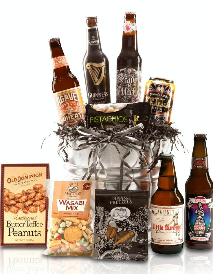 Best ideas about Beer Gift Basket Ideas . Save or Pin 17 ideas about Beer Gift Baskets on Pinterest Now.
