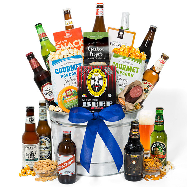 Best ideas about Beer Gift Basket Ideas . Save or Pin Around The World Beer Bucket 12 Beers by Now.
