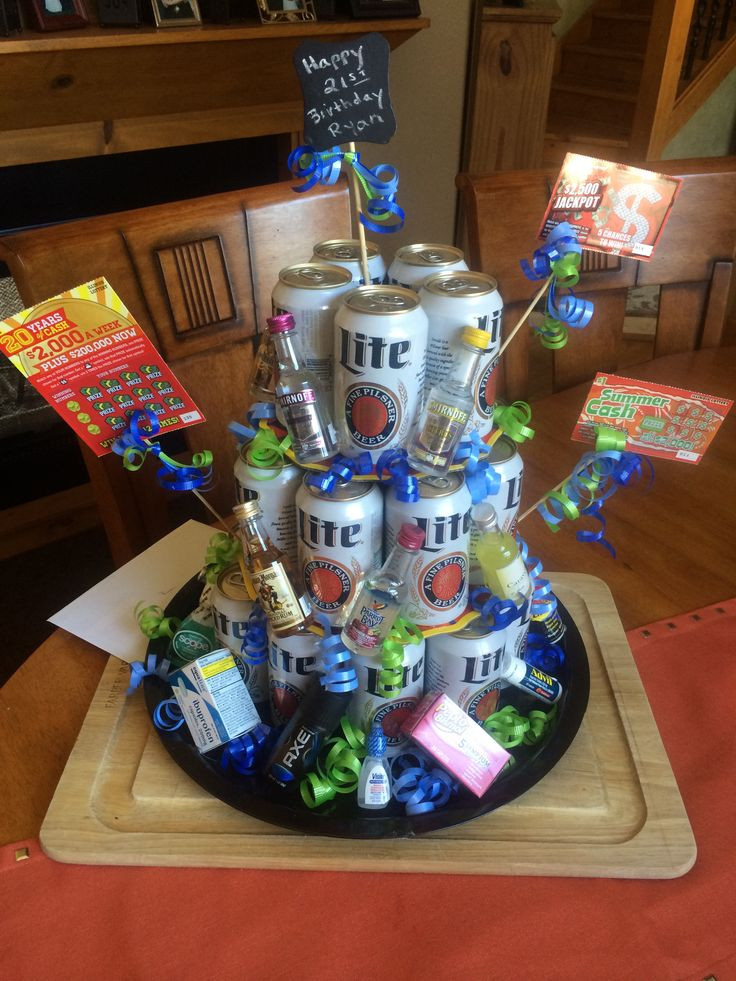 Best ideas about Beer Gift Ideas . Save or Pin 21st birthday t Beer cake tower Now.