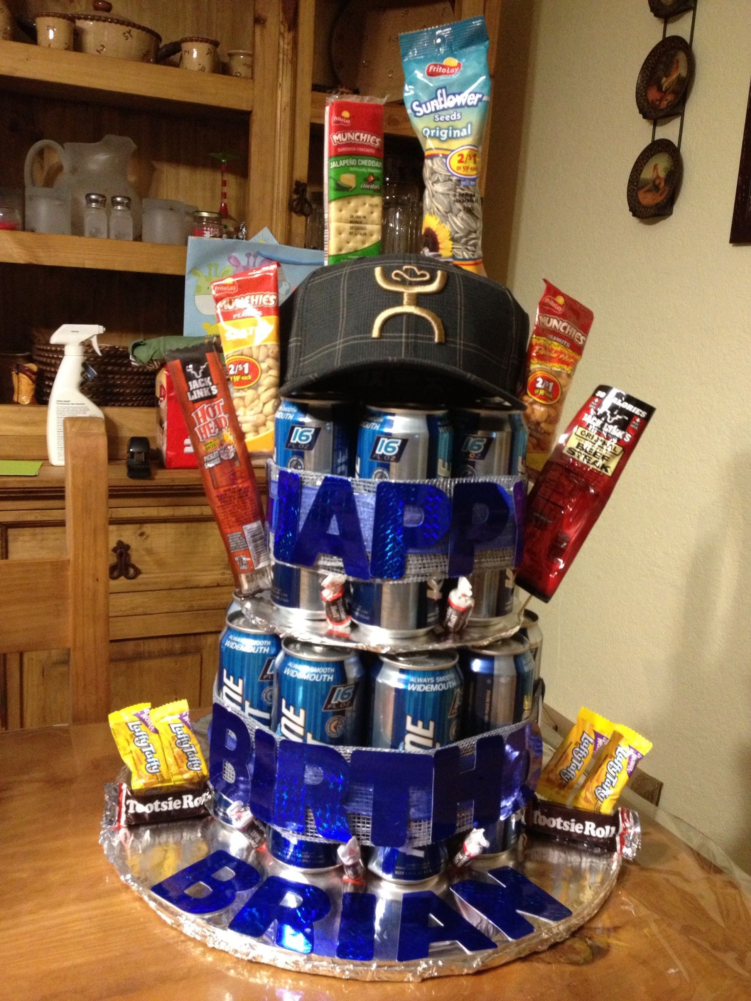 Best ideas about Beer Gift Ideas . Save or Pin Beer cake My creations Now.
