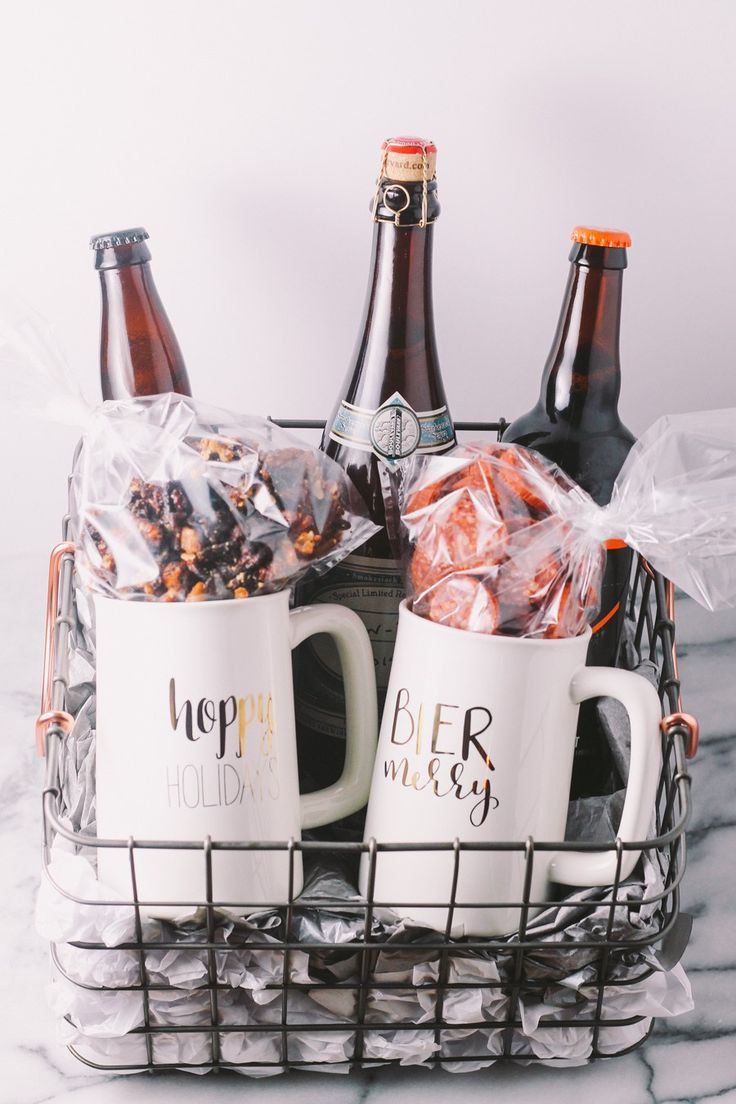 Best ideas about Beer Gift Ideas . Save or Pin Best 25 Beer basket ideas on Pinterest Now.