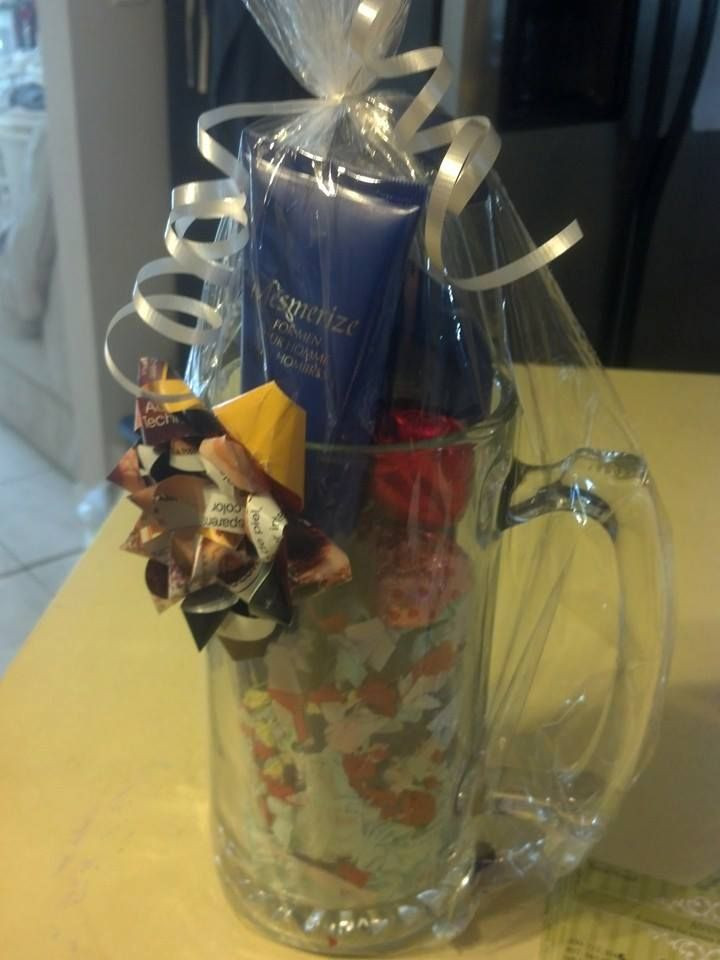 Best ideas about Beer Gift Ideas . Save or Pin Mens basket mug idea Gift Baskets Now.