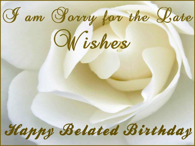 Best ideas about Belated Birthday Wishes For Friend . Save or Pin Belated Birthday Wishes Messages and Greetings WishesMsg Now.