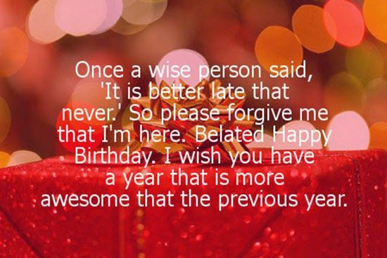 Best ideas about Belated Birthday Wishes For Friend . Save or Pin Pin by Darshan Kumar on Wishes Now.