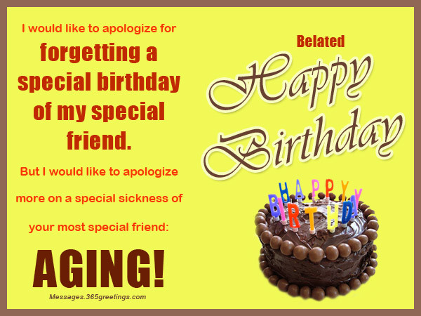 Best ideas about Belated Birthday Wishes For Friend . Save or Pin Belated Birthday Wishes Greetings And Belated Birthday Now.