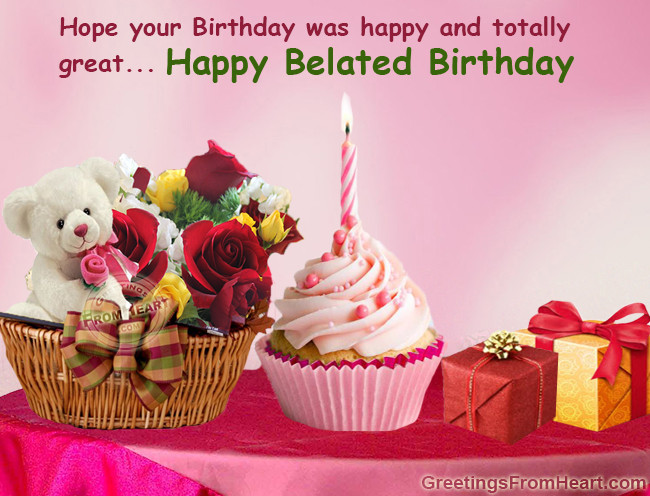 Best ideas about Belated Birthday Wishes Images . Save or Pin 44th Birthday Belated Quotes QuotesGram Now.