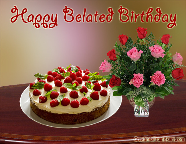 Best ideas about Belated Birthday Wishes Images . Save or Pin Belated happy birthday greetings late birthday wishes s Now.