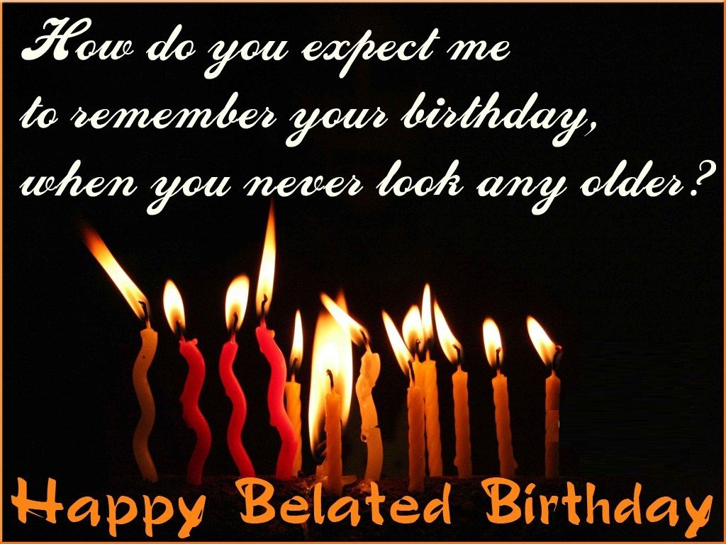 Best ideas about Belated Birthday Wishes Images . Save or Pin Belated Birthday Graphics Page 7 Now.