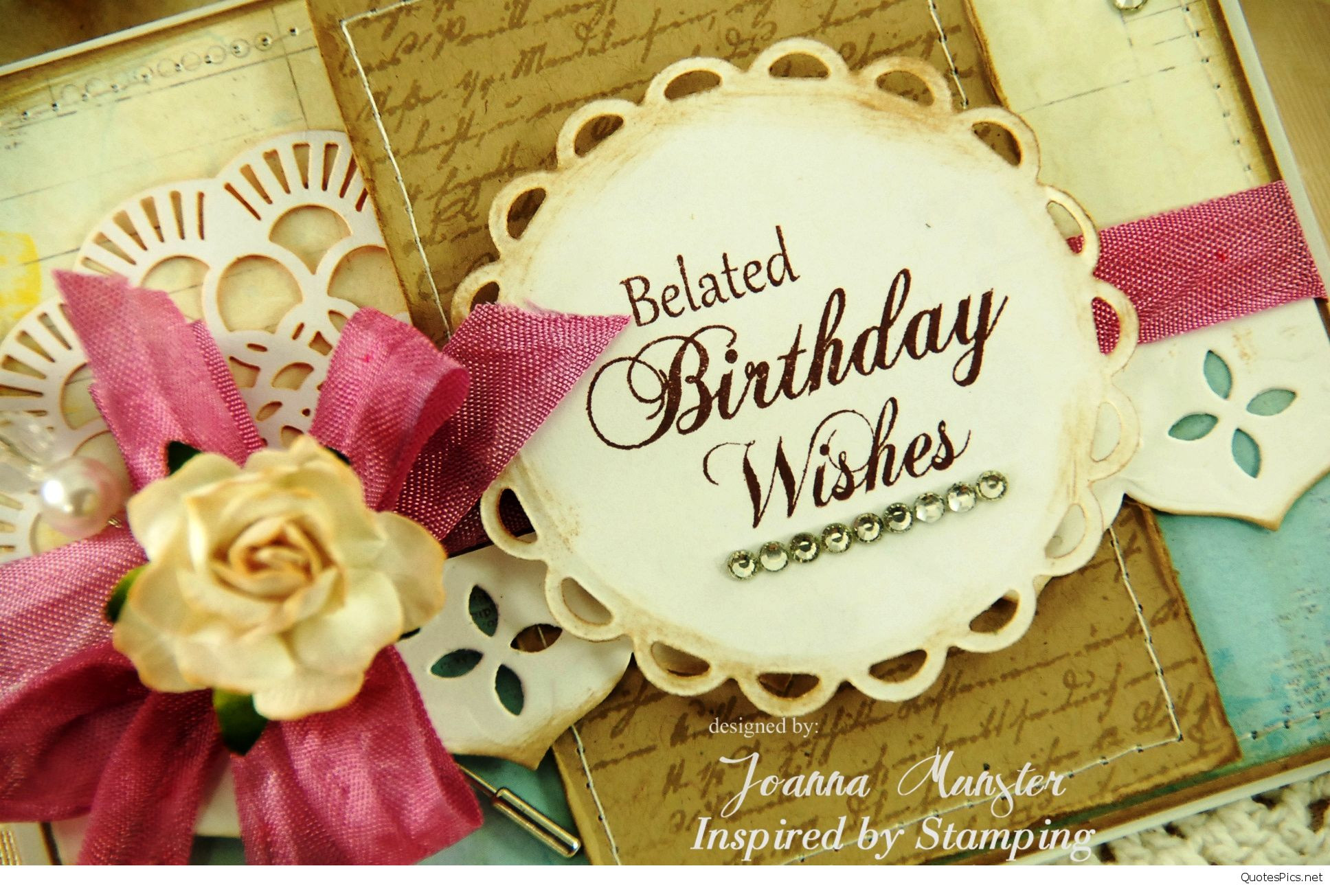 Best ideas about Belated Birthday Wishes Images . Save or Pin belated birthday wishes Quotes Pics Now.