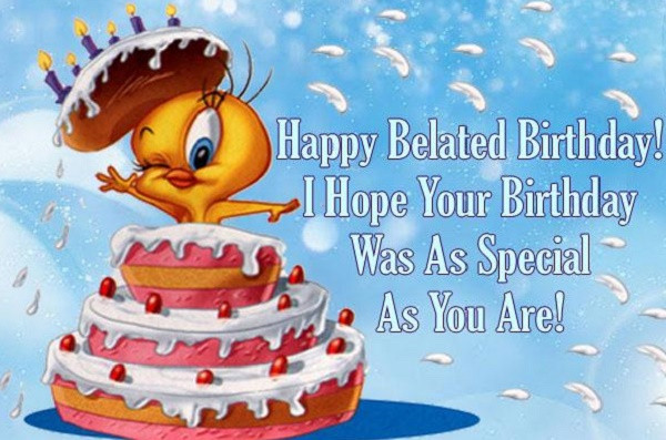 Best ideas about Belated Birthday Wishes Images . Save or Pin [Belated] Happy Birthday Wishes Quotes Messages Now.
