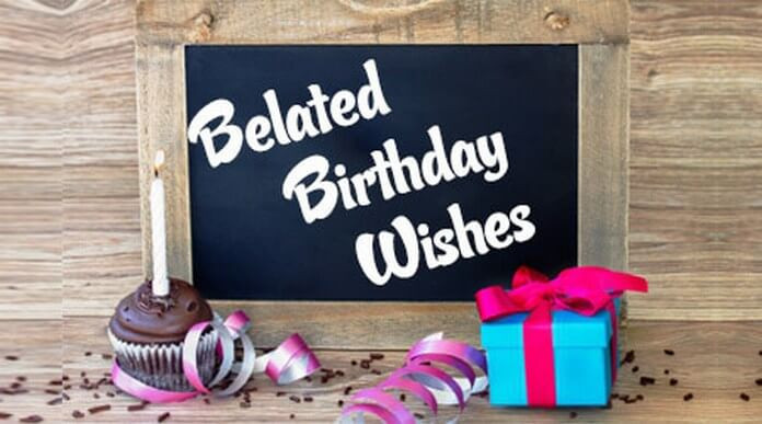 Best ideas about Belated Birthday Wishes . Save or Pin Belated Birthday Wishes Belated Birthday Messages and Quotes Now.