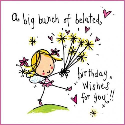 Best ideas about Belated Birthday Wishes . Save or Pin Happy belated Birthday Wishes Messages Quotes and Now.