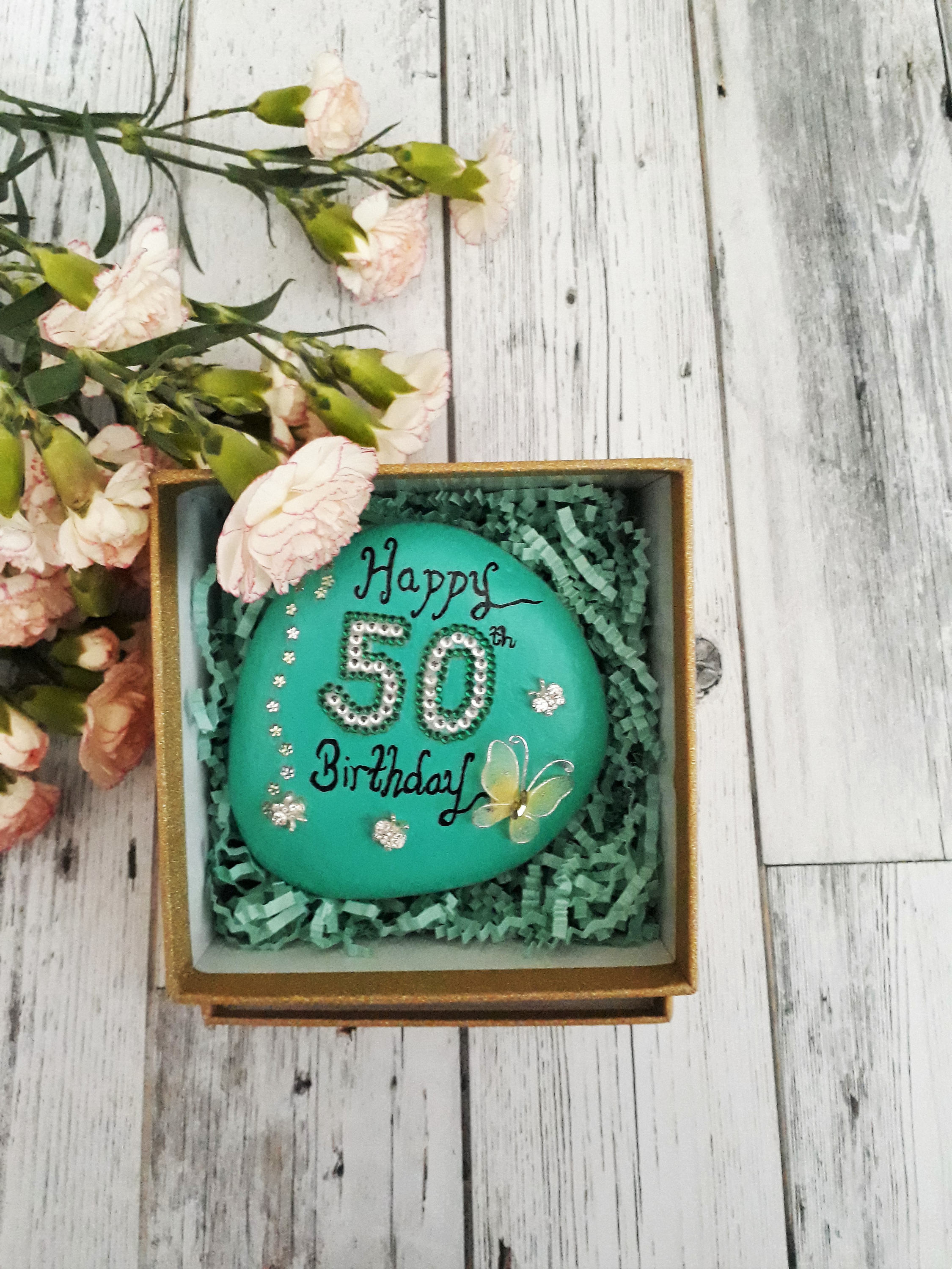 Best ideas about Best 50th Birthday Gifts For Her . Save or Pin 50th birthday t for her 50th birthday celebration stone Now.