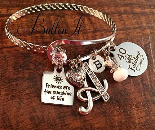 Best ideas about Best 50th Birthday Gifts For Her . Save or Pin Amazon Best friend t FRIENDSHIP bracelet Friend Now.
