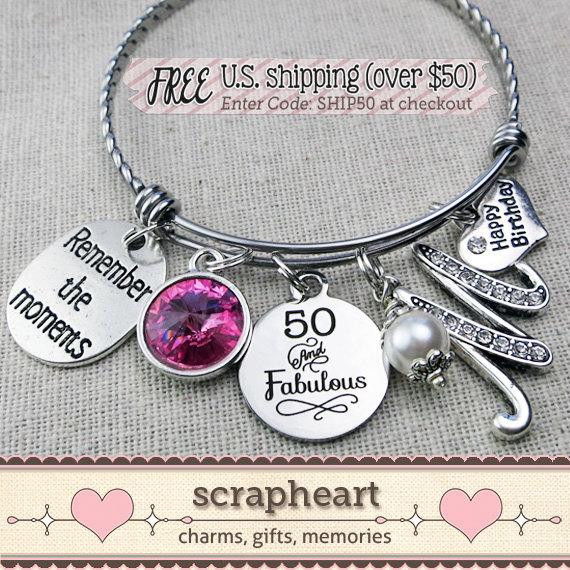 Best ideas about Best 50th Birthday Gifts For Her . Save or Pin 50th BIRTHDAY Gift Milestone Birthday Gifts for Her Best Now.