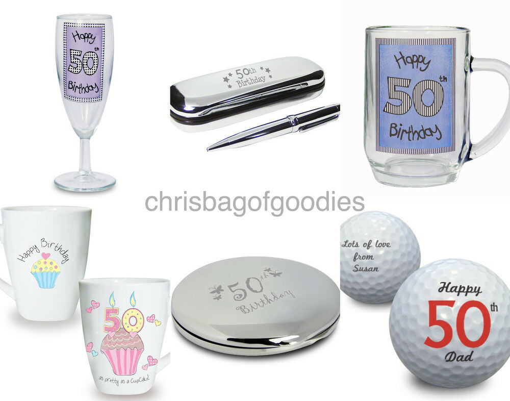 Best ideas about Best 50th Birthday Gifts For Her . Save or Pin 50th Fiftieth Birthday Gifts PRESENTS Keepsake For La s Now.