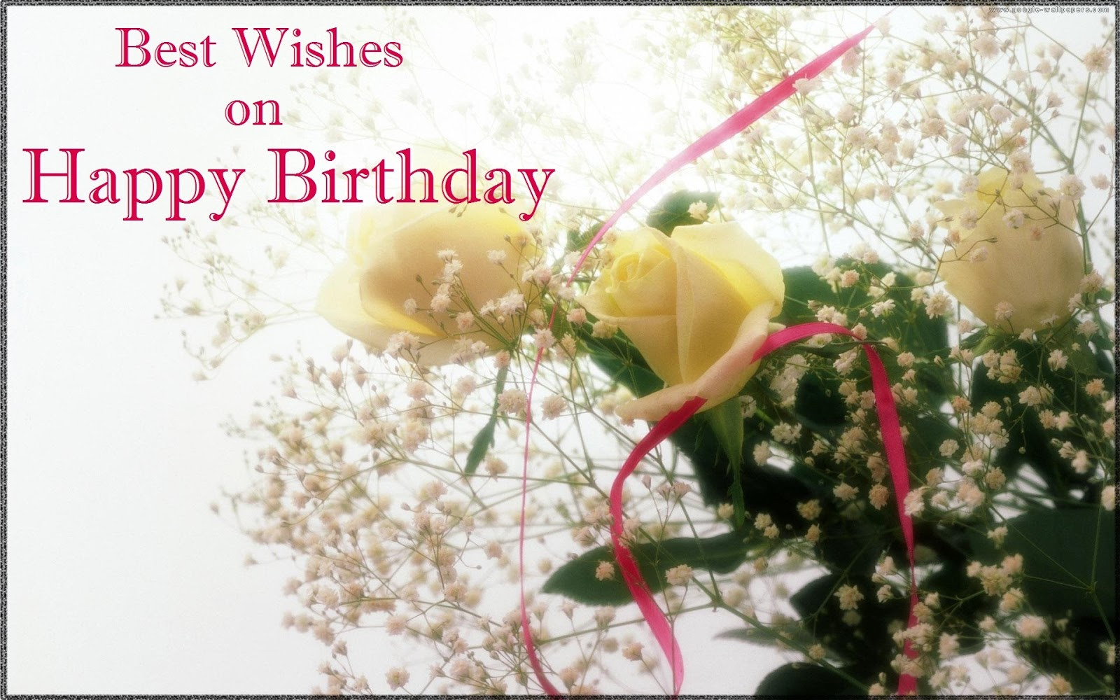 Best ideas about Best Birthday Wishes . Save or Pin 25 Refreshing Birthday Wishes Now.