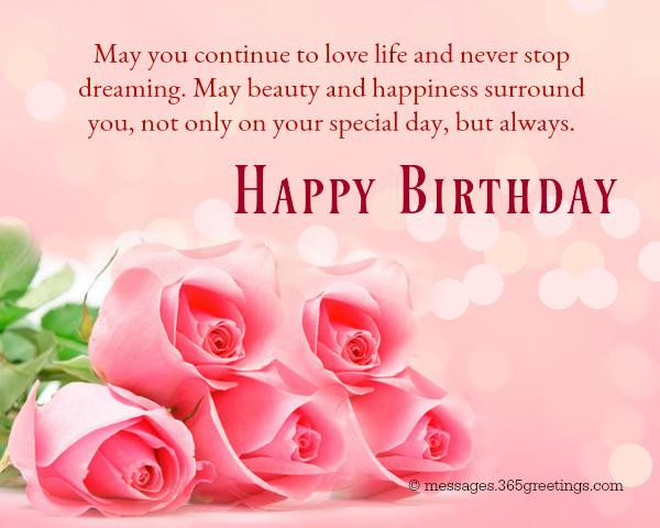 Best ideas about Best Birthday Wishes . Save or Pin Happy Birthday Wishes and Messages 365greetings Now.