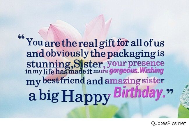 Best ideas about Best Birthday Wishes For Sister . Save or Pin Best happy birthday wishes cards for sister brother Now.