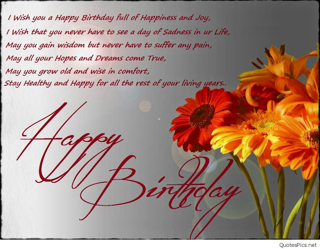 Best ideas about Best Birthday Wishes . Save or Pin Happy Birthday wallpaper wishes greetings 2017 Now.