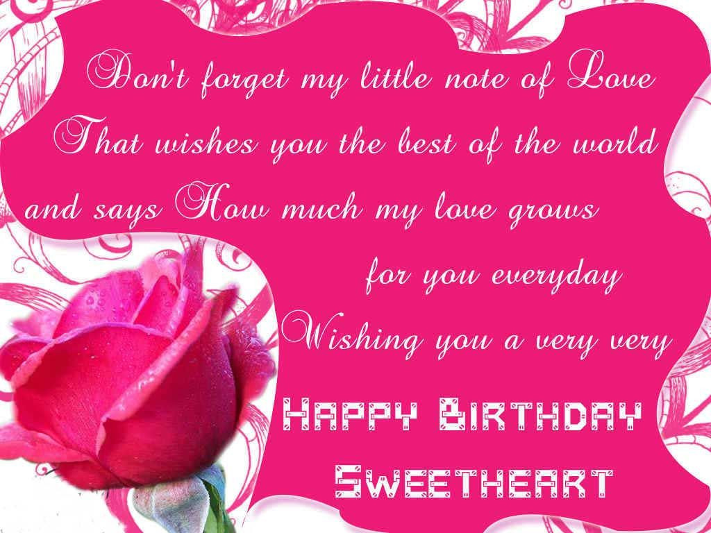 Best ideas about Best Birthday Wishes . Save or Pin best birthday wishes for girlfriend Now.
