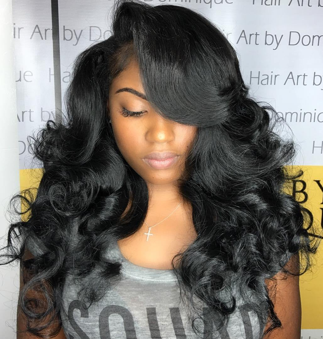 Best ideas about Best Black Haircuts . Save or Pin 50 Best Eye Catching Long Hairstyles for Black Women Now.