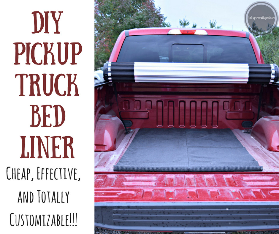 Best ideas about Best DIY Bed Liner . Save or Pin DIY Pickup Truck Bed Liner Easy & Cheap Now.