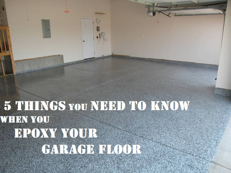 Best ideas about Best DIY Garage Floor Epoxy . Save or Pin Epoxy Your Garage 5 Things to Know How To Build It Now.