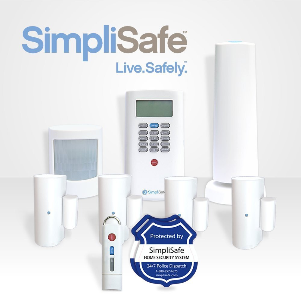 Best ideas about Best DIY Home Security Systems . Save or Pin Simplisafe2 Wireless Home Security System 8 piece Plus Now.