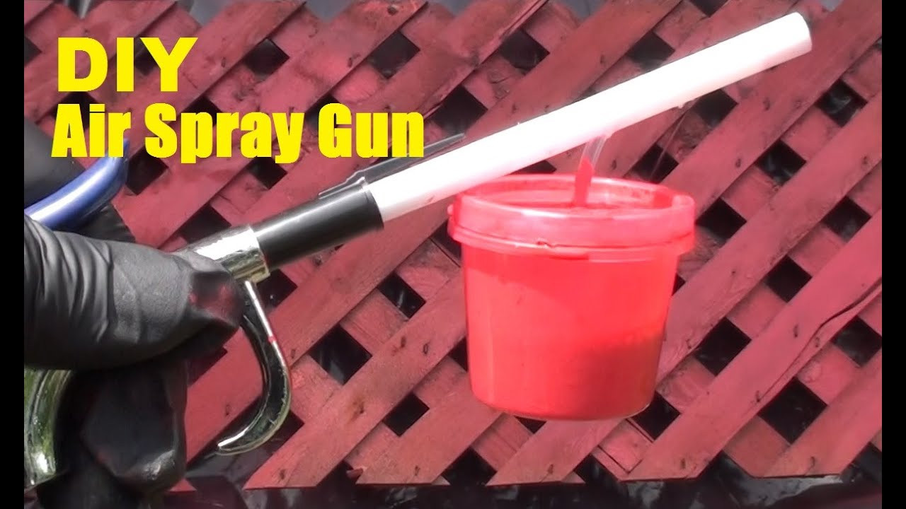 Best ideas about Best DIY Paint Sprayer . Save or Pin DIY Air Spray Paint Gun Now.