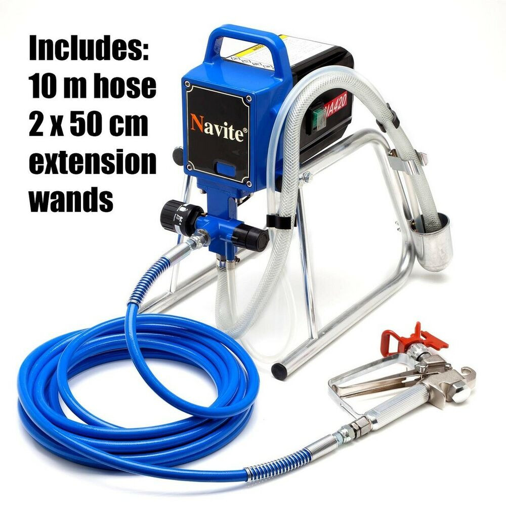 Best ideas about Best DIY Paint Sprayer . Save or Pin Airless Paint Sprayer Piston Type 240V DIY Home Electric Now.