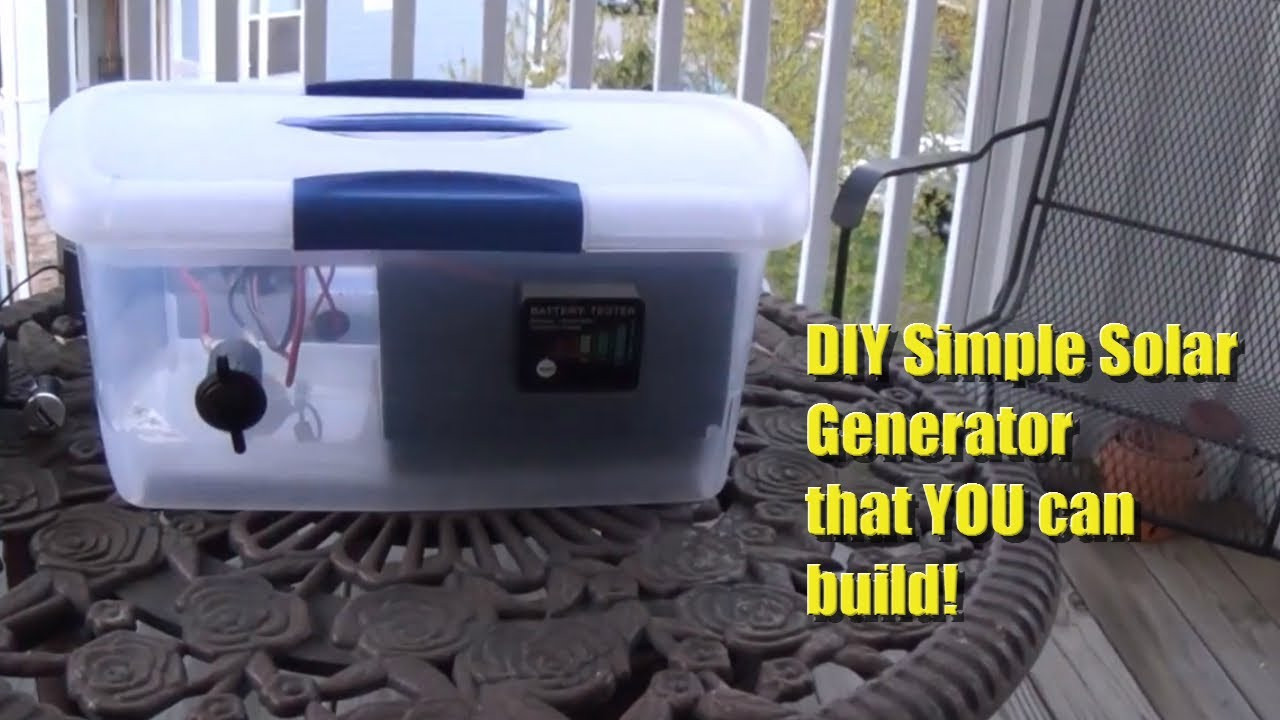 Best ideas about Best DIY Solar Generator . Save or Pin DIY Portable Solar Generator Now.
