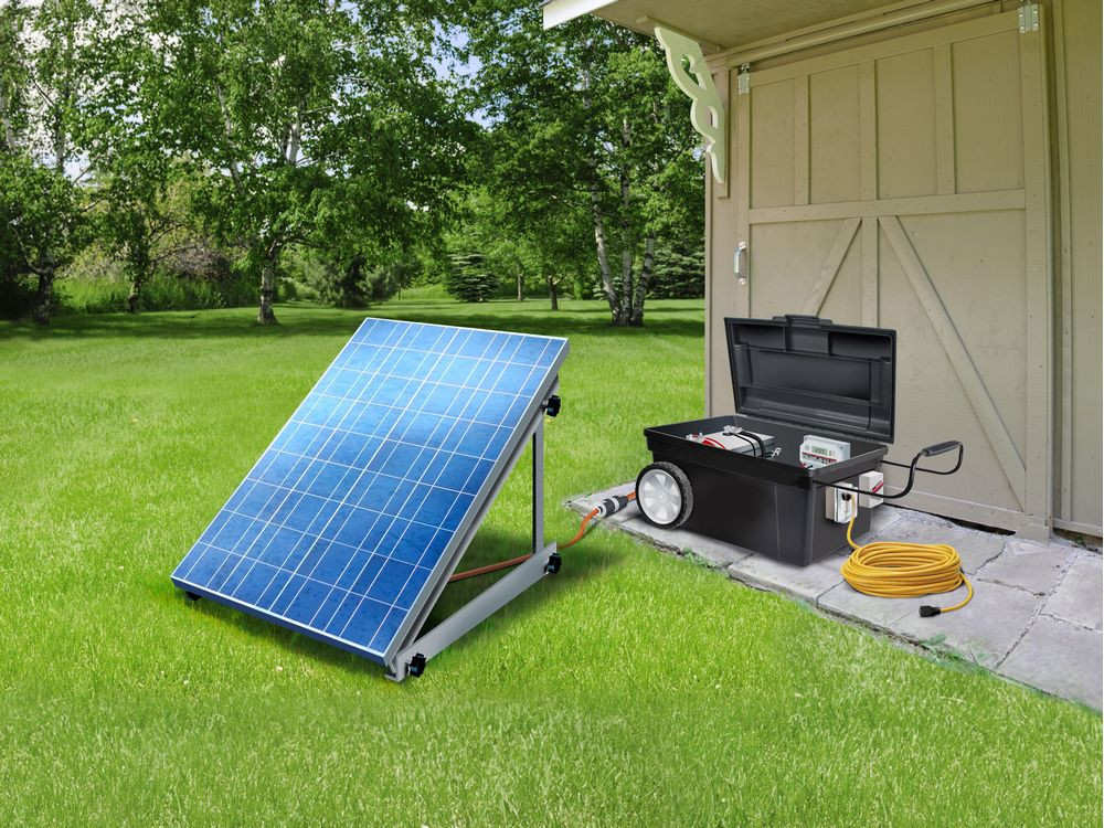 Best ideas about Best DIY Solar Generator . Save or Pin House Works DIY solar generators an energy option but Now.