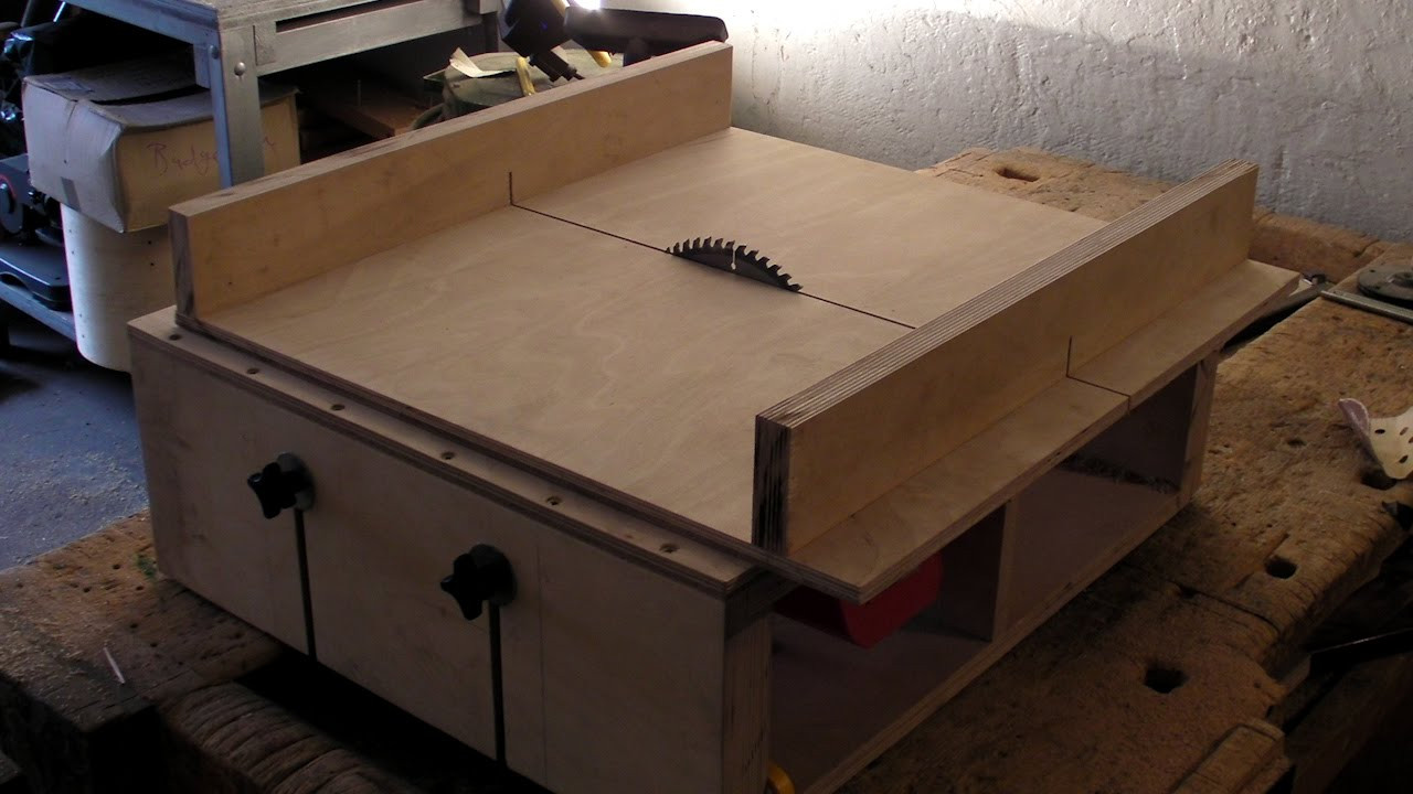 Best ideas about Best DIY Table Saw . Save or Pin Homemade Table Saw Part 2 DIY Sledge Runners & Mitre Now.