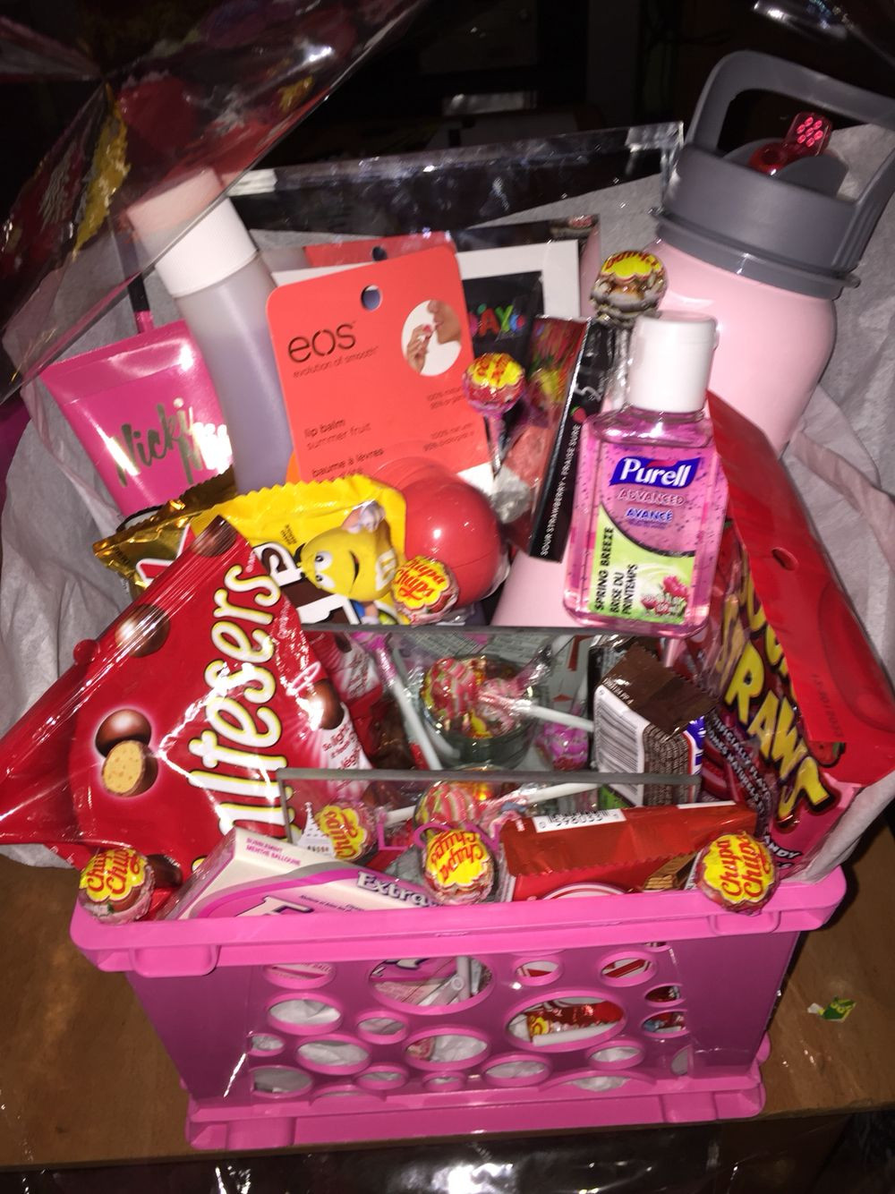 Best ideas about Best Gift Basket Ideas . Save or Pin Made a t basket for my best friend s birthday with Now.